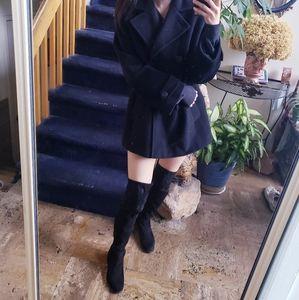Cinzia Rocca Angora Wool Jacket Coat